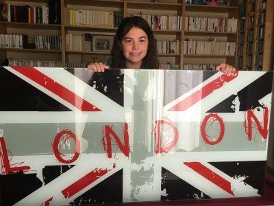 Je suis au collège Notre Dame de la Compassion, à Pontoise. I want to see London again ...