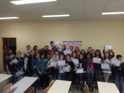 Collège Philéas Lebesgue Marseille en beauvaisis (Oise) Proud of our 6èmes!
