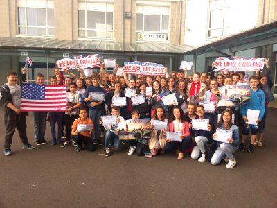 Félicitations à tous les élèves du collège Saint Vincent à Brest!