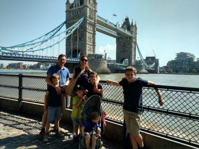Mon voyage familial à Londres il y a 3 ans