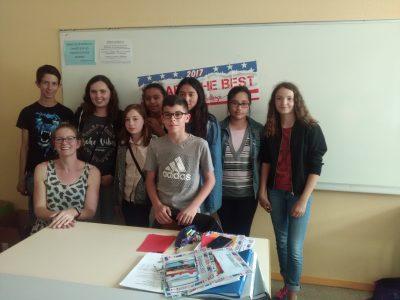 Collège Philéas Lesbesgue de Marseille en beauvaisis (Oise - 60) Congratulations to our 5èmes!