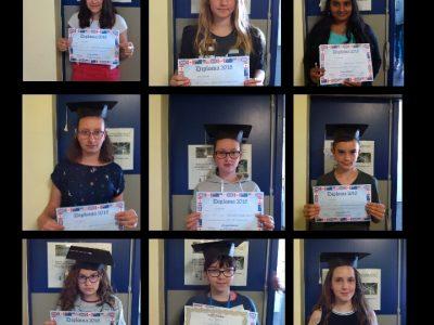 Congratulations to the students of 4ème, collège Calmette et Guérin, Ecueillé (36)!