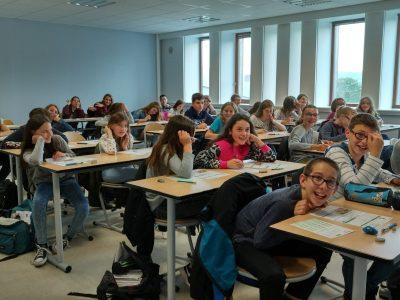 FRAIZE (88) - Collège de la Haute Meurthe - Epreuve de 6ème