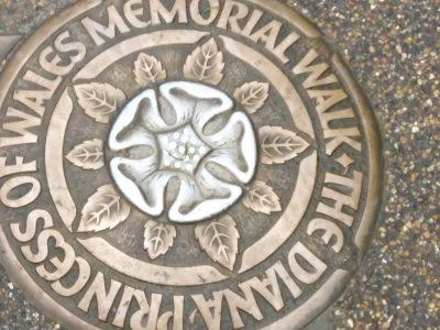 Je suis partie à Londres et à chaque coin du hight parc il y avait se symbole
