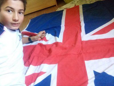 La Tour du pin .College le Calloud   I love England