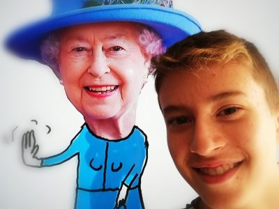 Albi, collège BALZAC Rencontre virtuelle avec la Reine d'Angleterre