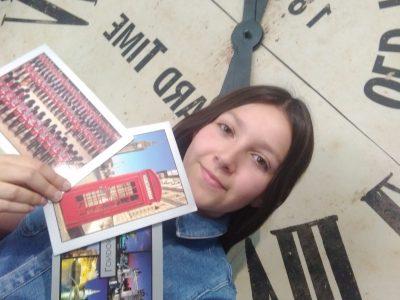 I am ready to visit the Great Britain !  Alexane SCHILDER Collège Blanche De Castille à La Chapelle La Reine (77)