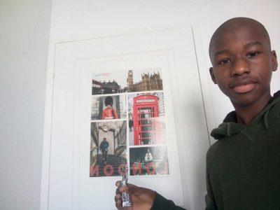 Hello my name is Aziz. Ma ville est Angers et je suis au Collège St Charles
