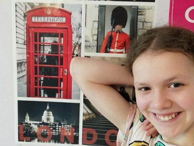 Courbevoie, Collège Georges Pompidou  Avec le confinement on ne peut pas voyager mais je vous envoie quand même une photo de Londres!!