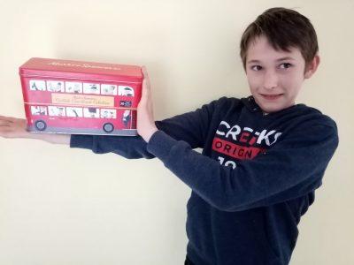Montignac (collège Yvon Delbos) Le bus londonien s'invite en Périgord