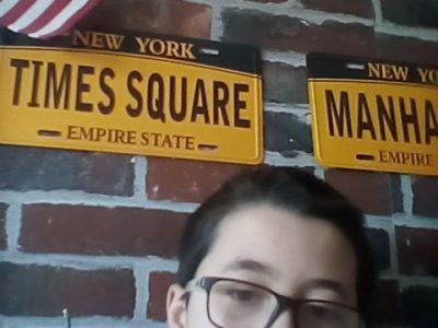 Athis-Mons collège Saint Charles pour rappeler le anglais j'ai mis des éléments venu de New York