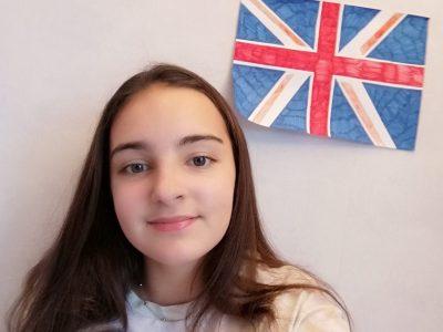 Thonon-les-bains, collège Champagne   J'ai choisi le drapeau du Royaume-Unis car pour moi aller à Londres a été une magnifique expérience, j'ai pu voir pleins de belles choses... Et surtout j'ai pu entendre et parler anglais sans modération !