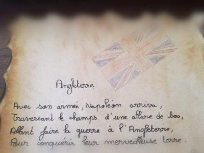 collège Malraux 16360 Baignes.  *J'adore l'histoire et l'Angleterre.