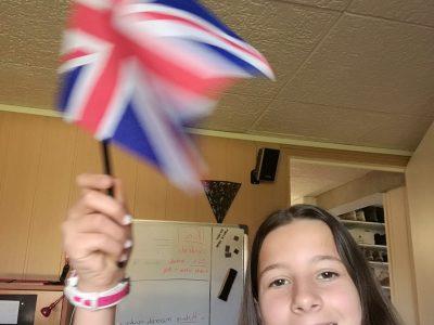 Feurs  Collège Le Palais   J'ai choisis cet objet par ce que c'est le drapeau de l'Angleterre.