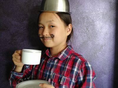 """Sierentz collège Françoise Dolto .Mylord venez boire """"this delicious tea """"!"""