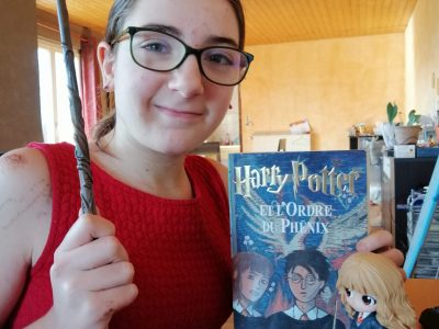 PONTARLIER 25300  COLLEGE PHILIPPE GRENIER  J'adore Harry Potter j'ai profité du confinement pour tous les lire et maintenant je regarde les films ;)
