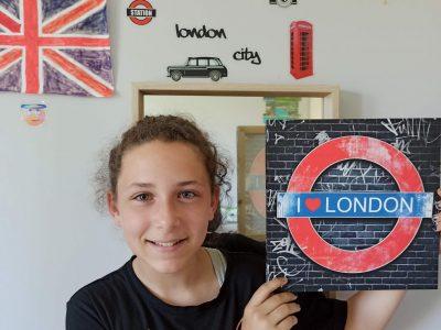 "Legé collège st anne  ""I love London"""