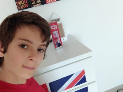 voici ma chambre en anglais