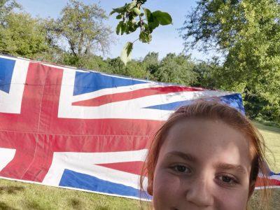 ROMORANTIN- LANTHENAY. COLLEGE MAURICE GENEVOIX. Le drapeau de la Grande- Bretagne ne me quitte jamais!