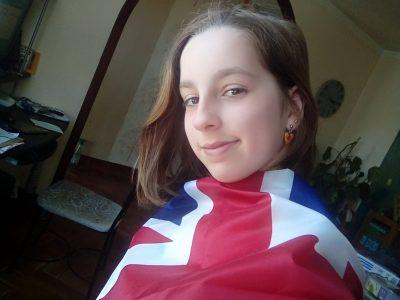 Ville: Ingrande le fresn sur Loire Collège: Maryse bastié Pour ce concours je me suis drapé de se drapeau! Vive L'Angleterre!!!!!