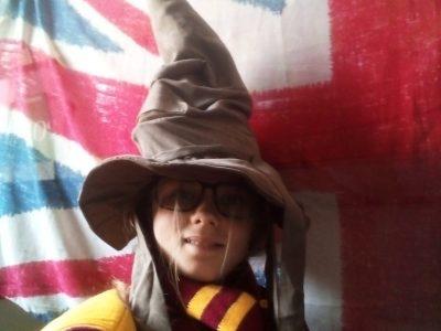 PEZENAS 34120 Collège Jean Bène   La photo pour Harry Potter !