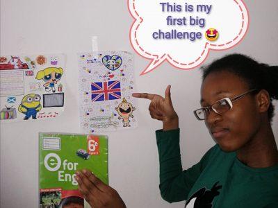 Collège Irène et Frédéric Joliot curie 2 rue Lesage 94120 FONTENAY-SOUS -BOIS  ça a été un honneur de participer a the big challenge   I love to speak english. Thank you