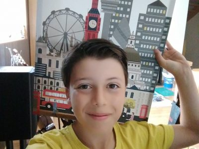 Lure / Collège Albert Jacquard / I love London !!!