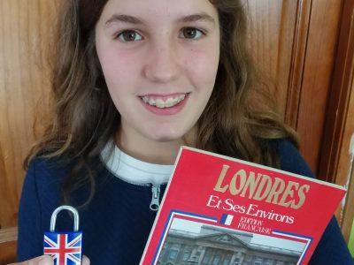 Collège Pierre Mendes France à  Parthenay. Vive l'Angleterre et sa langue !!!