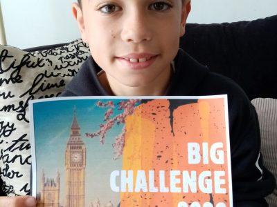 COUTANCES  JEAN PAUL II  BIG BEN représentatif de l'Angleterre et du BIG challenge 2020.