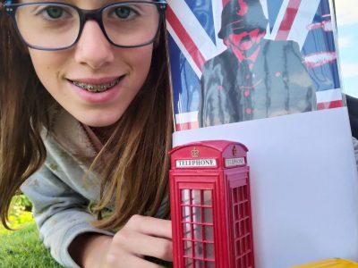 "SAINT NAZAIRE D'AUDE COLLEGE MARCELIN ALBERT Chloé MAVIT 6eme berlin ""English at home"""