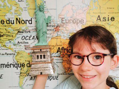 J'ai beaucoup aimé participer au Big Challenge mais ce n'est pas toujours facile ! J'habite à Angers et mon collège est l'Immaculée conception. J'ai fait le puzzle 3D de la statue de la liberté et j'aimerais un jour aller à New York pour la voir en vrai.  A bientôt  Clotilde