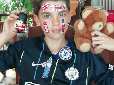 Ban Saint Martin , Collège Jean Bauchez, I love England and  football!