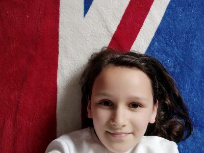 Yvetot, Collège Camus, le drapeau Anglais est la meilleure chose pour représenter l'anglais !