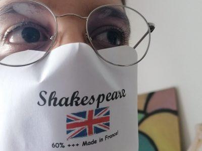Collège Léon Jouhaux à Livry-Gargan  Commentaire : Merci Shakespeare ! Ta langue est du français facile