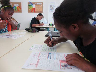 Le Big Challenge au LYCEE FRANCAIS LE CLEZIO à PORT VILA au VANUATU (Pacifique Sud), que de concentration! Good luck everyone!