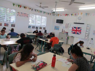 Vive le Big Challenge à l'autre bout du monde!  Les élèves du Lycée Français de Port Vila (Vanuatu) participent pour la deuxième année au concours. Que de concentration!