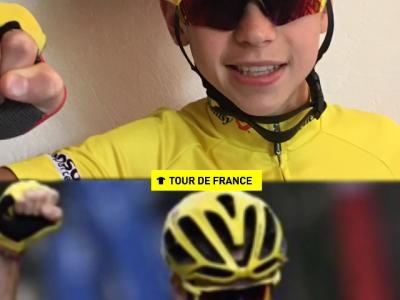 Bruyères Charlemagne  Fan de Christopher Froom ,le cycliste britanique vainqueur de quatre Tour de France (2013, 2015, 2016 et 2017), deux Tour d'Espagne (2011 et 2017), ainsi que le Tour d'Italie 2018.