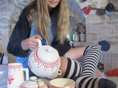 Collège George Pompidou Cajarc Lot 46160  Buvons du thé encore du thé, en nous souhaitant, mon cher un joyeux non-anniversaire.                                                            Alice au Pays des Merveilles Lewis Caroll