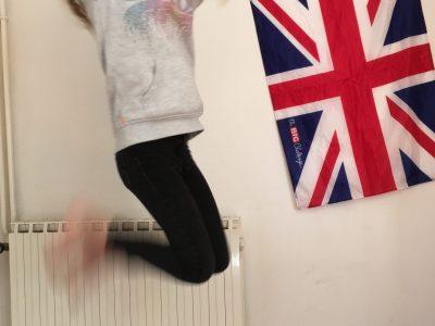 Neillé - Pierre, Collège Simone - Veil   drapeau de l'Angleterre que mon frère a gagner au big challenge.