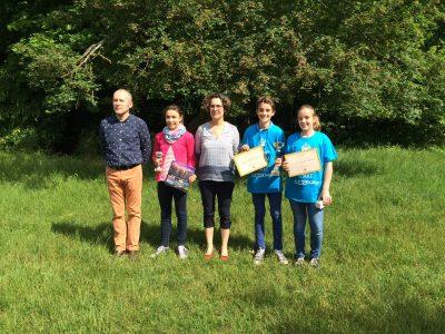 Félicitations aux gagnantsdu Collège Notre Dame les Oiseaux à Verneuil sur Seine!