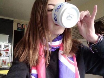 Angers collège Saint Charles. It's tea time!