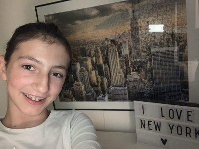 Je suis en sixième au collège Alcuin de Cormery. Un puzzle de ma ville préférée: New york.