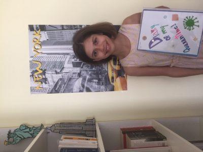 Paris, collège Saint-Michel de Picpus. Voici ma photo du big challenge, qui symbolise pour moi l'anglais. Bien cordialement. Mathilde DUVAL 602.