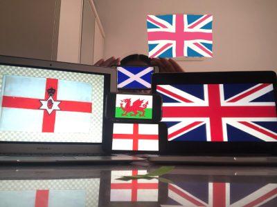 Ma photo représente les différents pays du Royaume Unis. Choisy-le-Roi, collège Jules Valles. Rozélie DONAT
