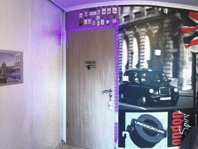 St Dié des Vosges , Collège St Marie ,  My Room ! I Love London :) ! (:
