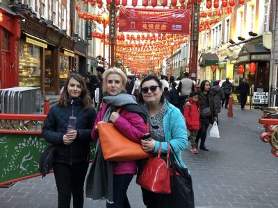 Riedisheim , collège Sainte -Ursule .  In Chinatown , to London with my dear family !!!