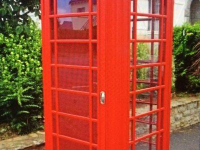 nantes, fauchet, photo d'une cabine téléphonique...