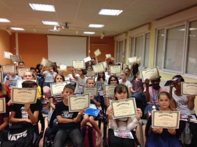 Senlis, Collège La Fontaine des Près Les élèves étaient ravis de la cérémonie de remise des prix !
