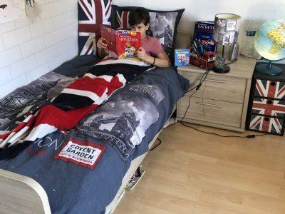 Cappelle-en-Pévèle collège Simone Veil   My British Bedroom  Saniez Noah