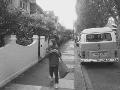 Collège Guy de Maupassant Chaumont en Vexin  La photo a été prises dans les rue de Londres, dans les quartiers d'habitations!